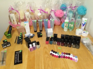 Girl's Night Out event table